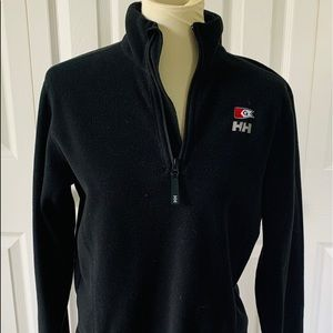 Helly Hansen Navy Fleece Half ZIP Gage Jacket XL